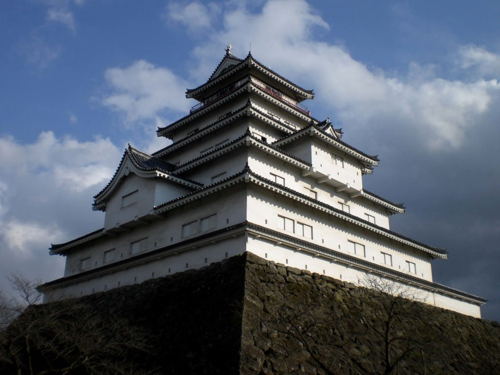 The castle in Aizu Wakamatsu
