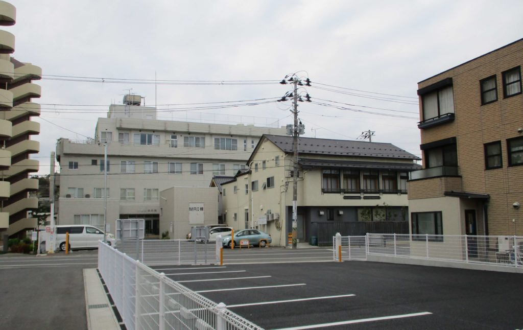 Rebuilt area in central Ishinomaki