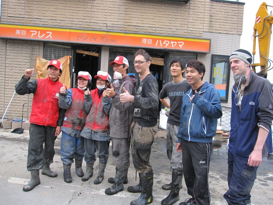 Volunteering in Ishinomaki after the 2011 tsunami