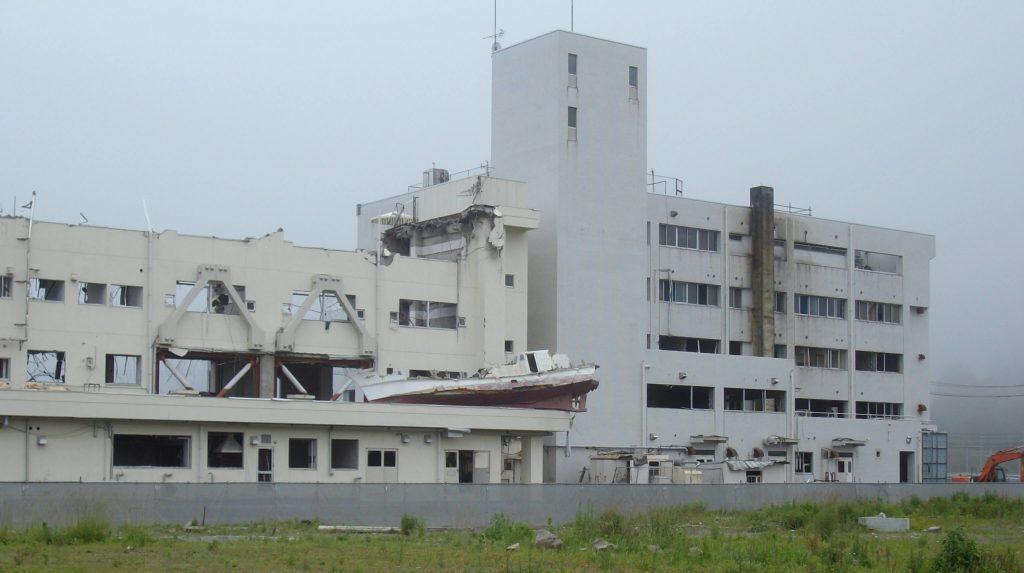 Tsunami damage in Minami Sanriku