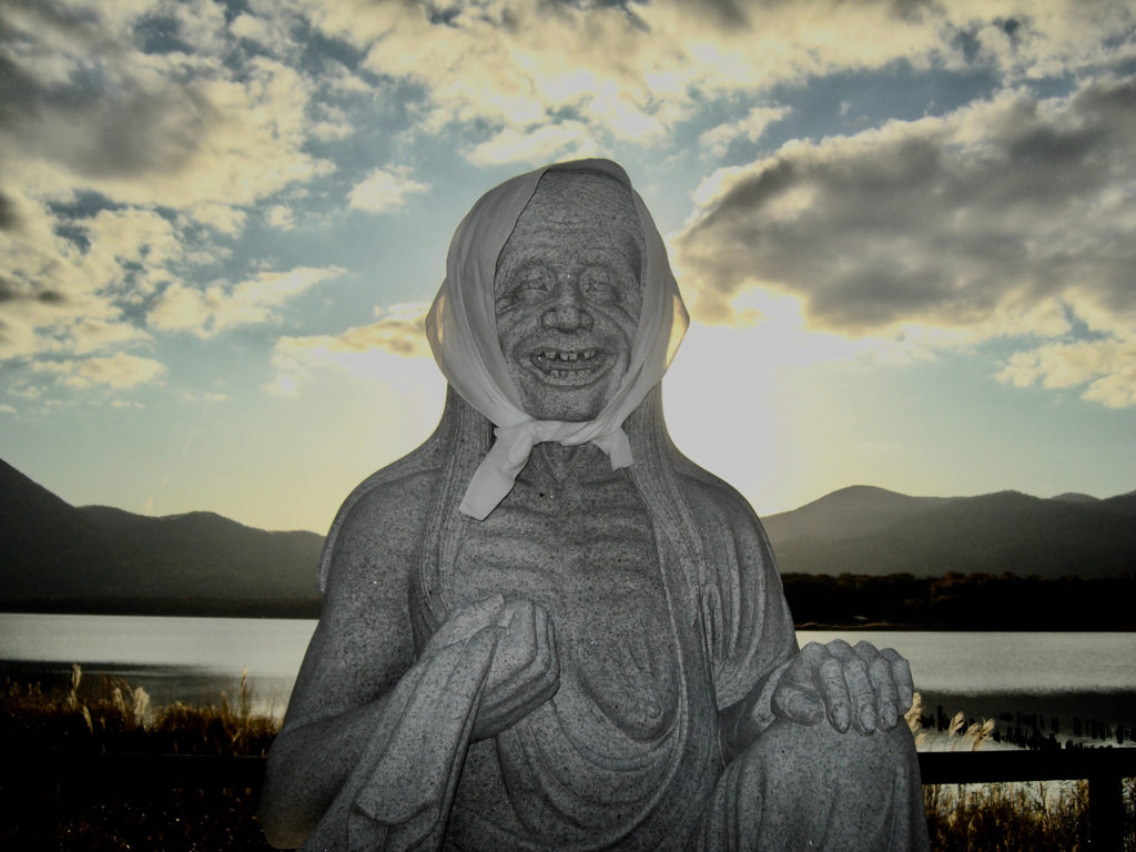 Itako statue, Osorezan