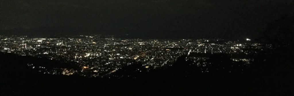 Daimonjiyama summit night view