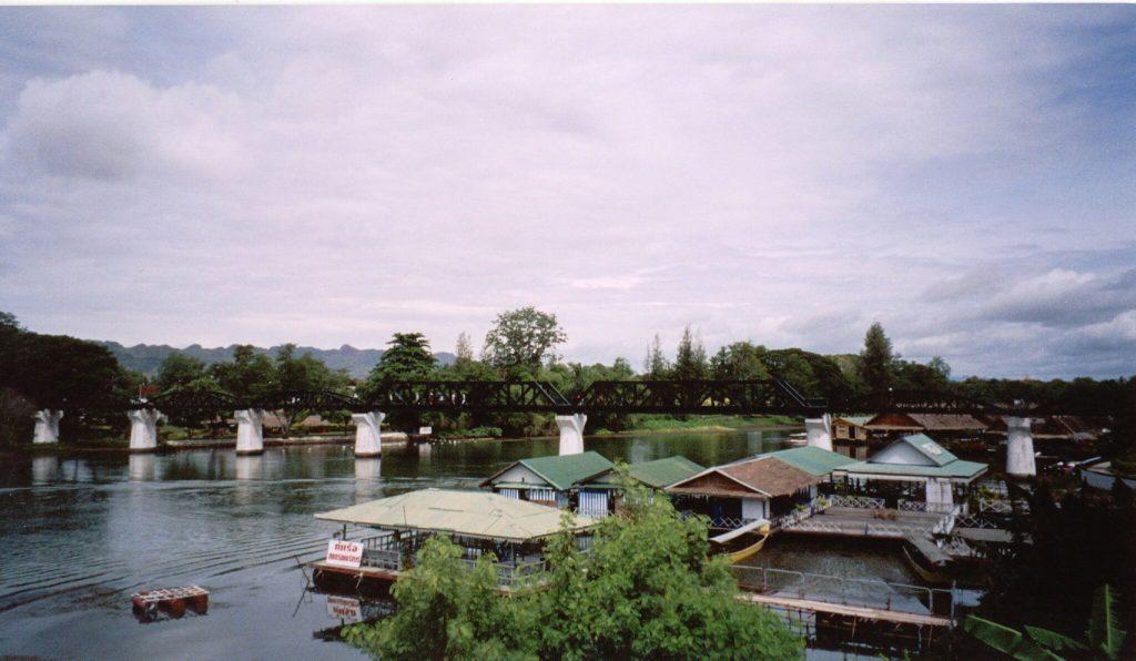 The bridge over the River Kwai, Kanchanaburi, Thailand