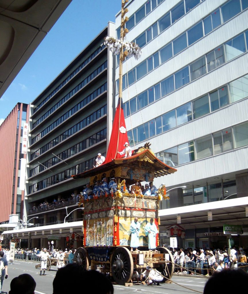 Gion Festival float