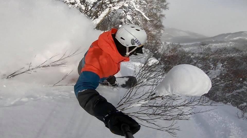 Hokkaido powder at Teine
