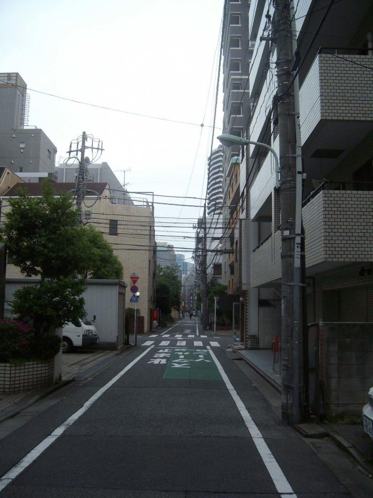 A side street in Ikebukuro