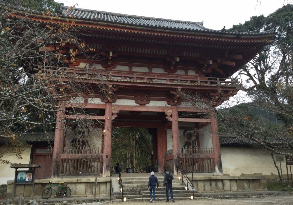 Entrance gate at Daigo-ji
