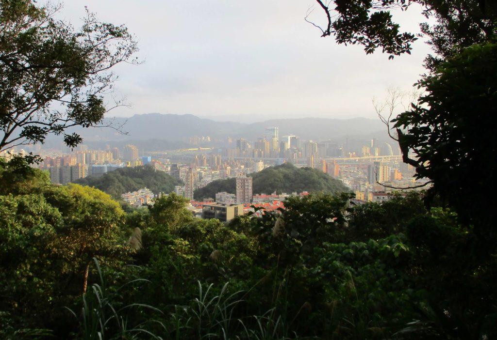 View of Nangang from Kangleshan