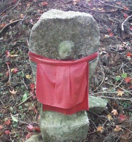 Jizo statue on Mt Atago