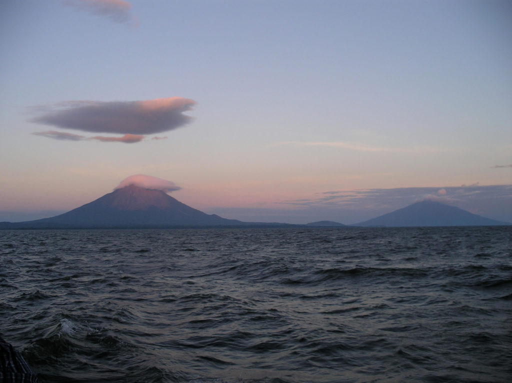 The twin volcanos of Ometepe