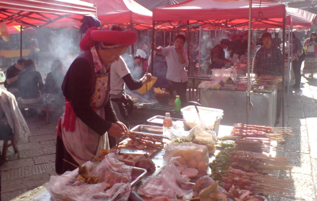 The market in Shangri La