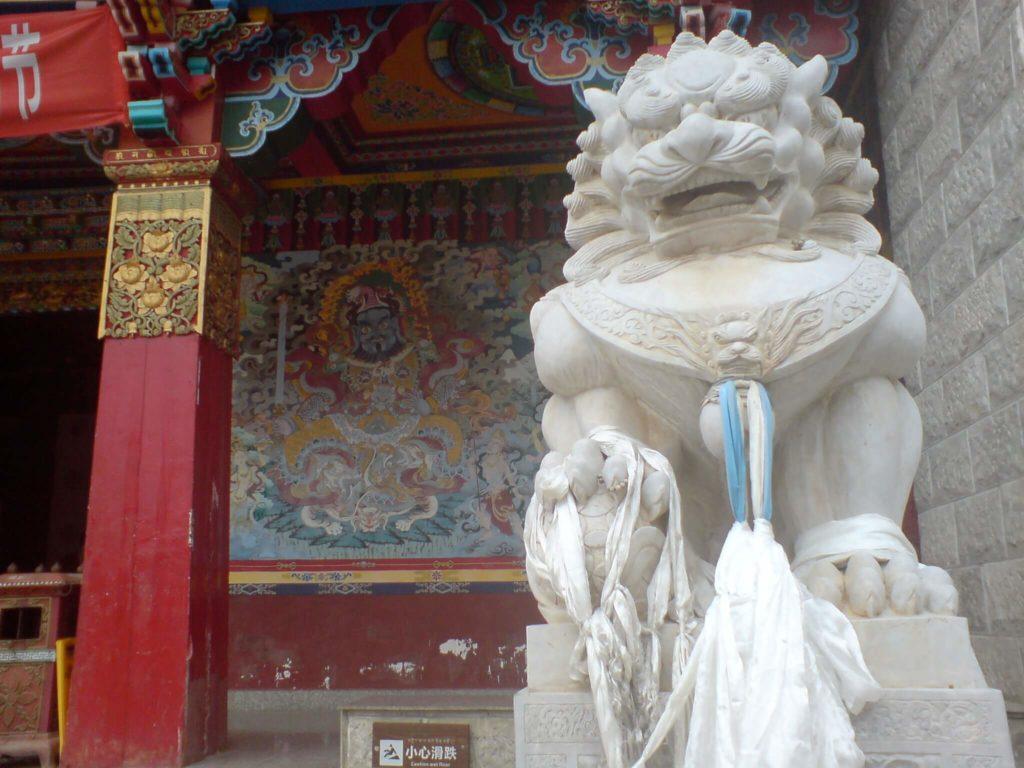 The monastery at Shangri La
