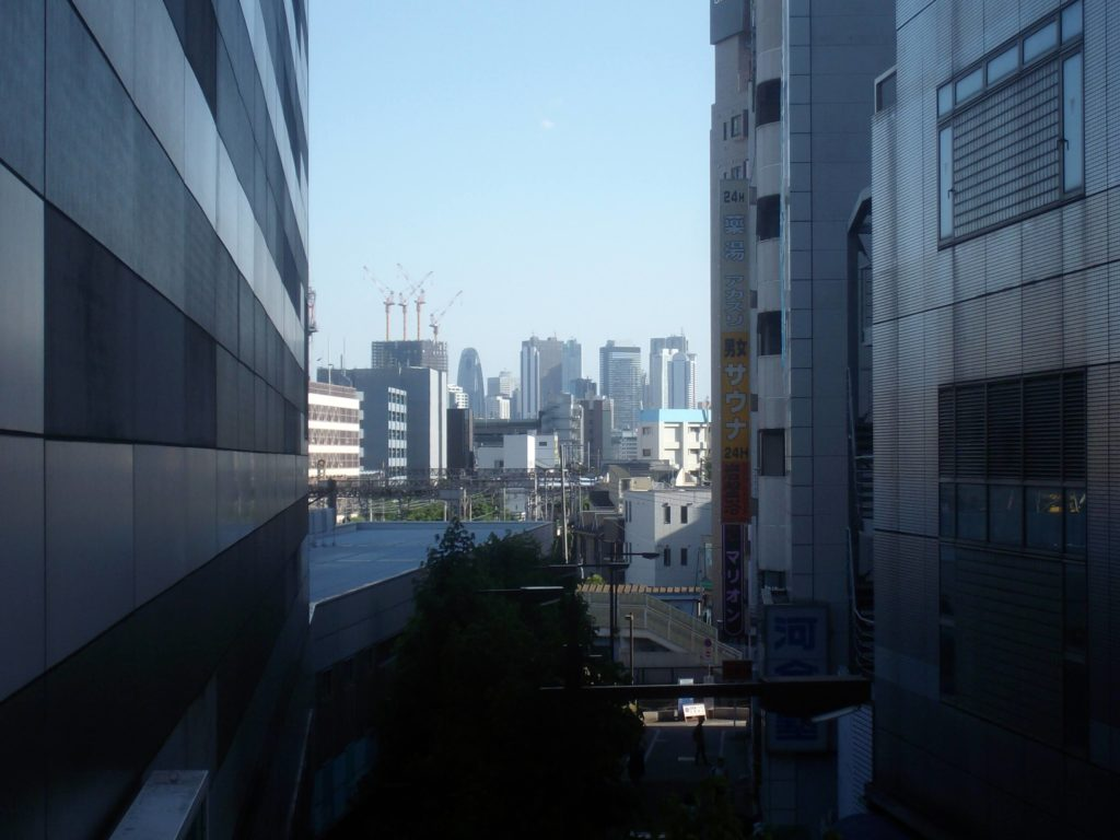 View of Shinjuku's skyscrapers from Ikebukuro