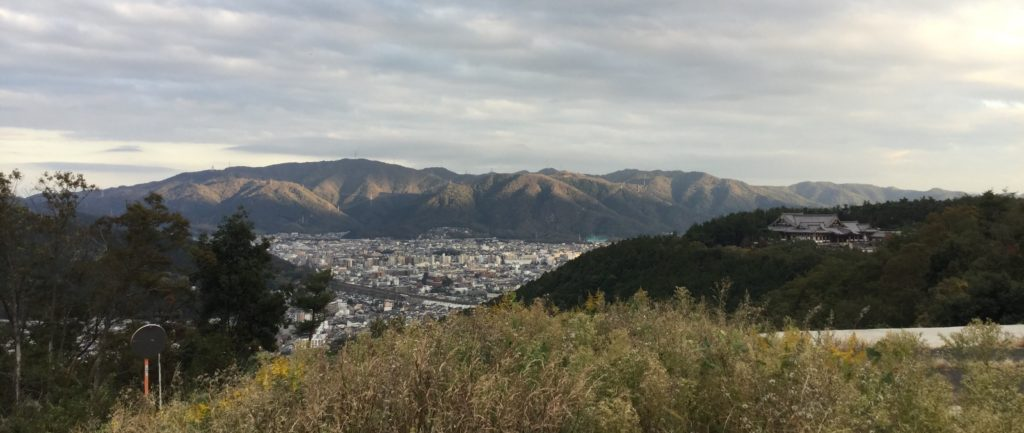 Views over Yamashina from Shogunzuka