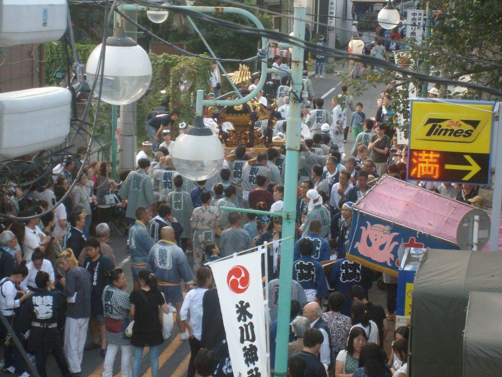 Tokyo local festival