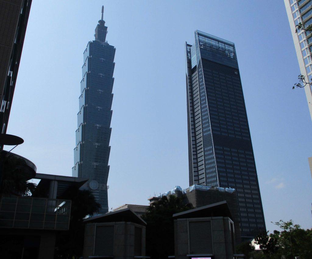 Taipei 101 & Nanshan Plaza
