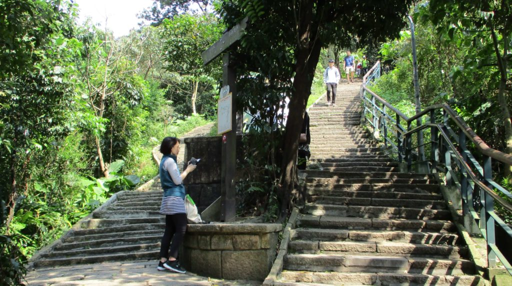 Xiangshan hiking trail