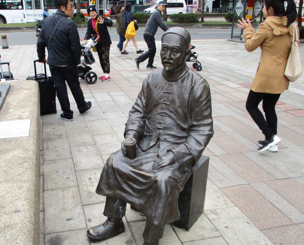 Statue in Ximen, Taipei