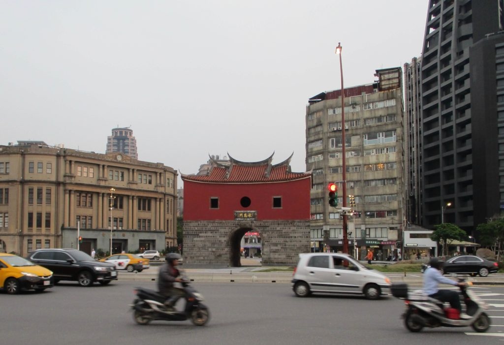 Beimen, the North Gate of the old Taipei city wall