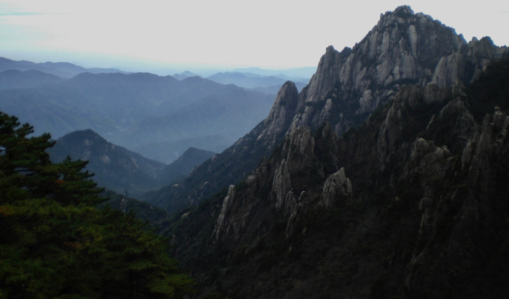 Amazing scenery at Huangshan
