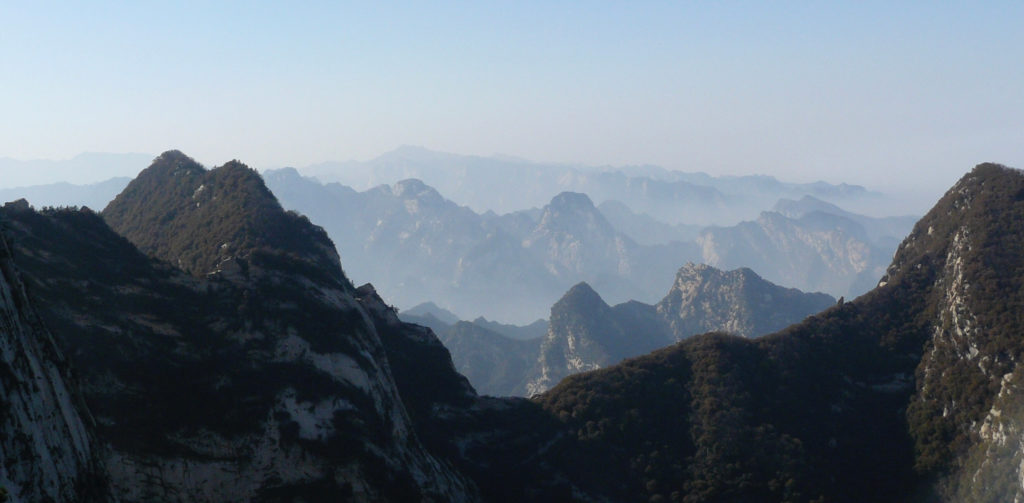 Amazing scenery at Huashan