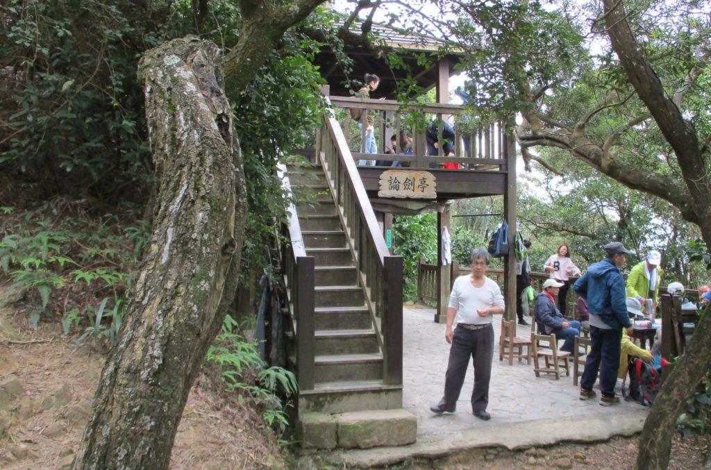 Pavilion near Jinmian Rocks