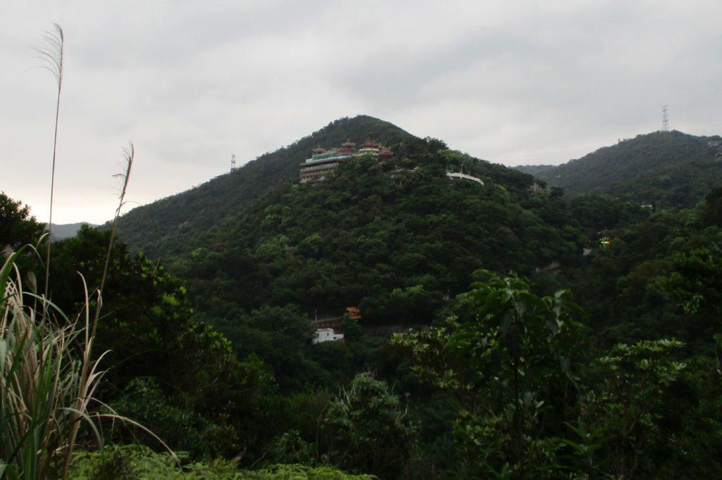 View of Bishanyan Temple from Liyushan hiking trail