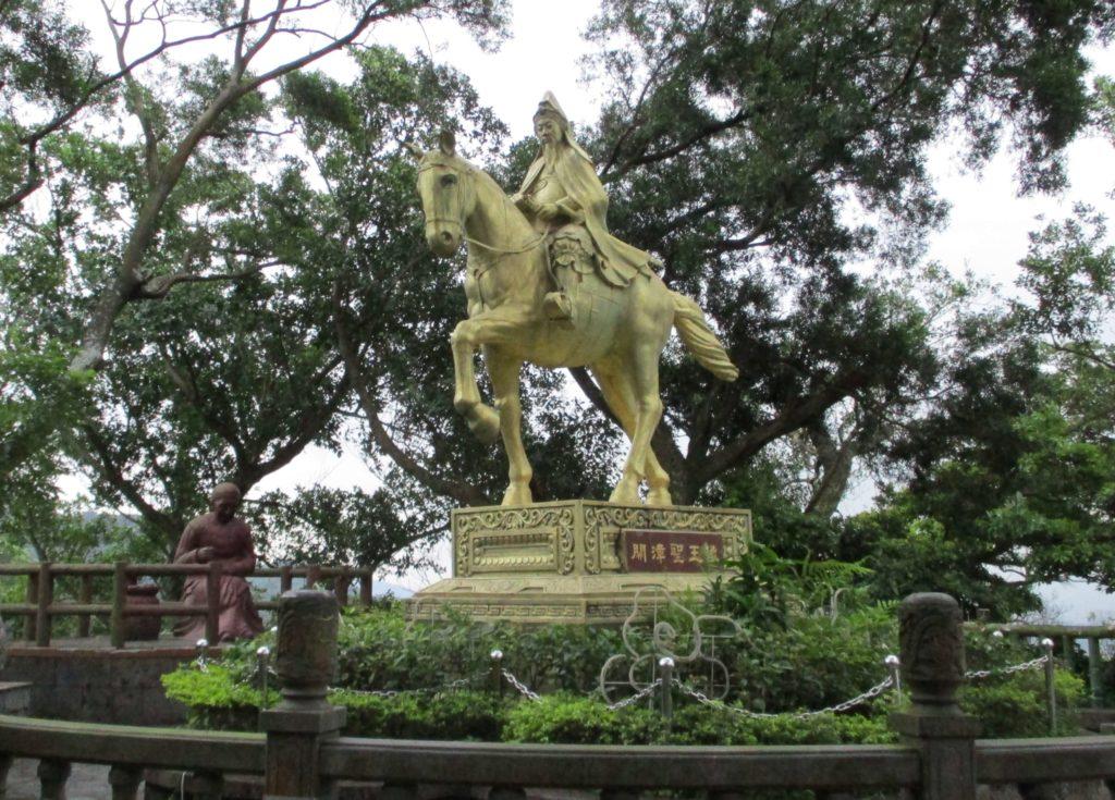 Statue at Bishanyan Temple