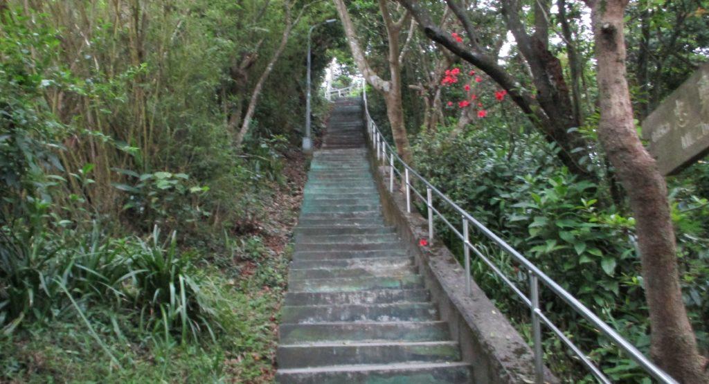 Zhongyongshan hiking trail