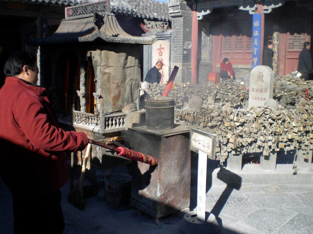Temple at Taishan