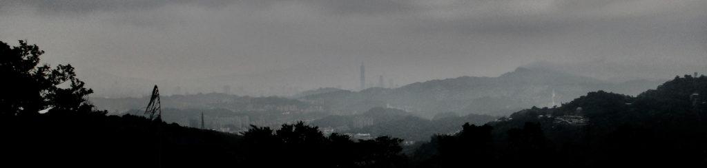 Taipei views from Maokong