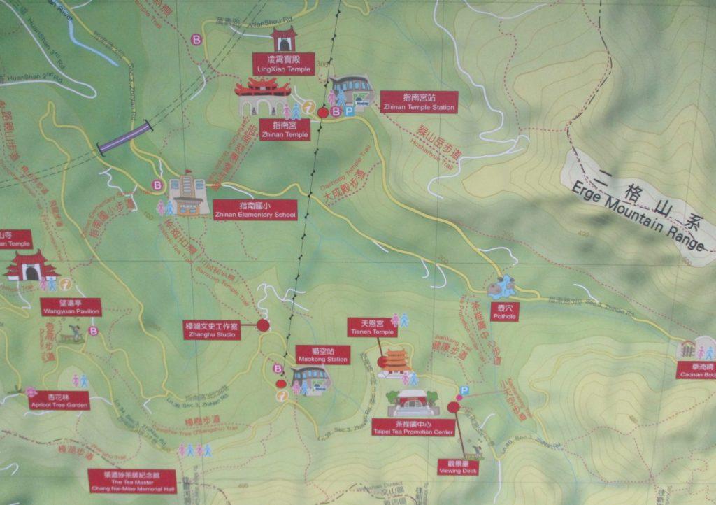 Maokong map