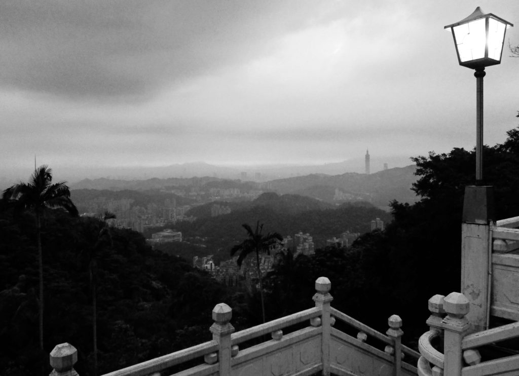 Taipei views from Zhinan Temple