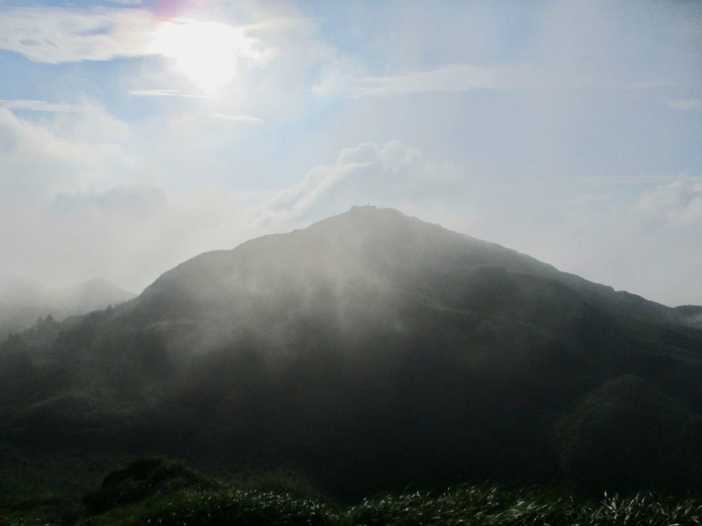 Qixingshan (7 Star Mountain) in Yangmingshan park, Taipei