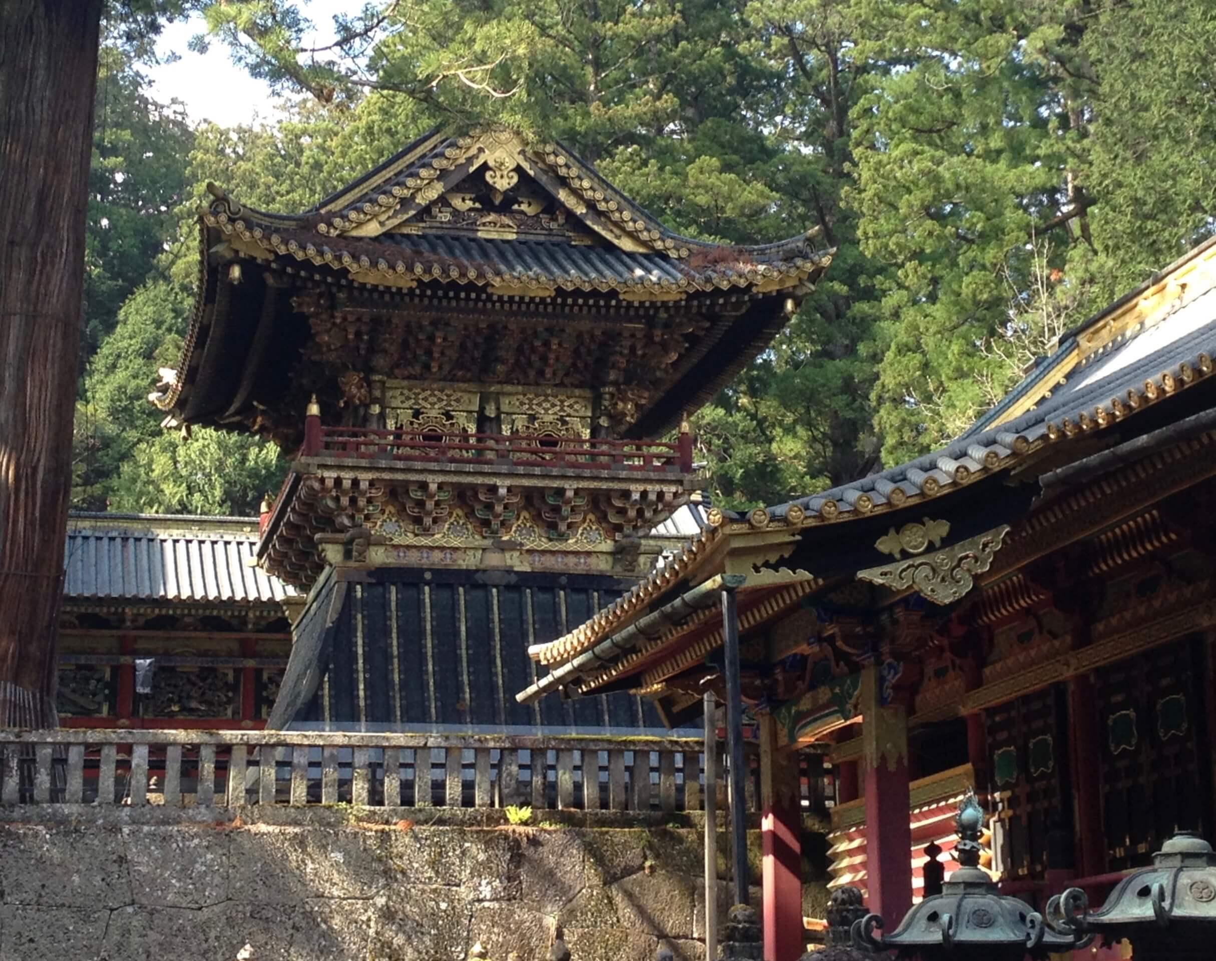 Tokugawa's mausoleum in Nikko