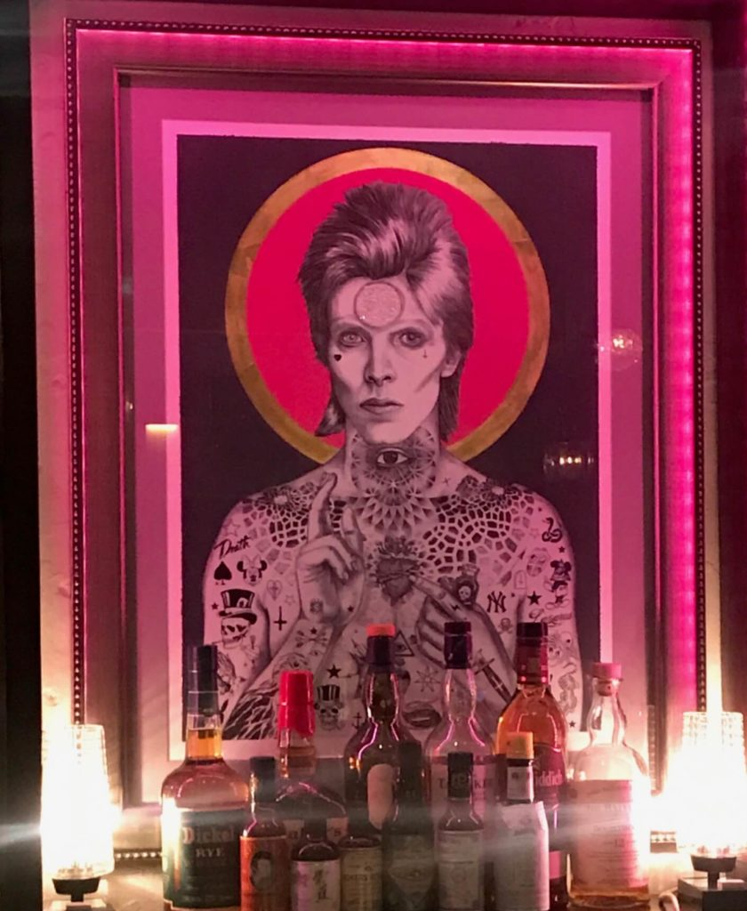 Bowie altar at FuMu, Taipei