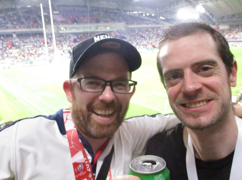 England vs USA, 2019 Rugby World Cup, Kobe Wing Stadium