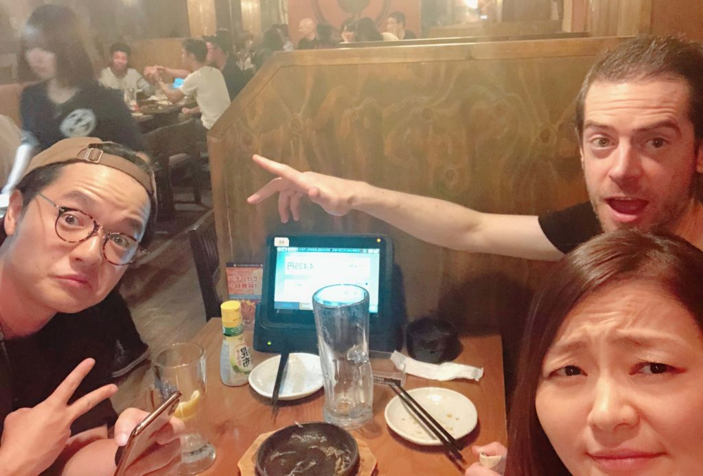 Drinking in Tokyo