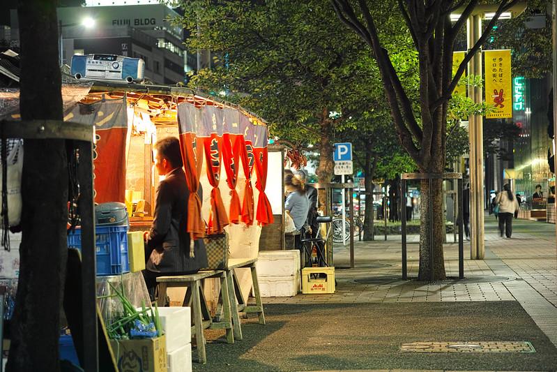Fukuoka street food stalls