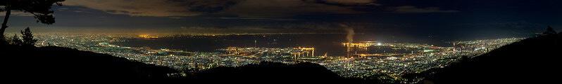 Night view from Mt Rokko, Kobe