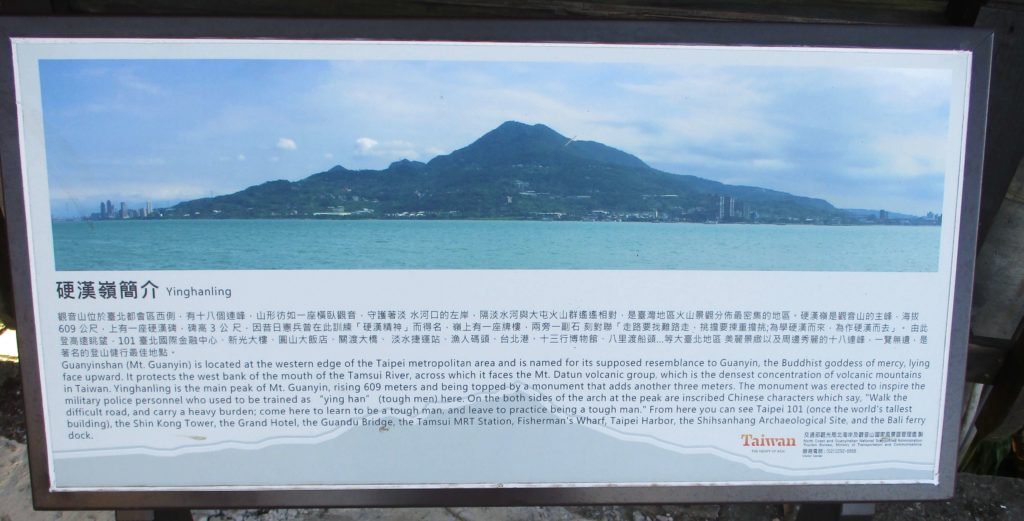 Guanyinshan information board