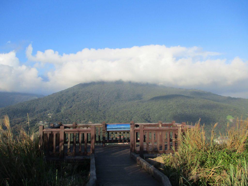 View of Qixingshan from Shamaoshan