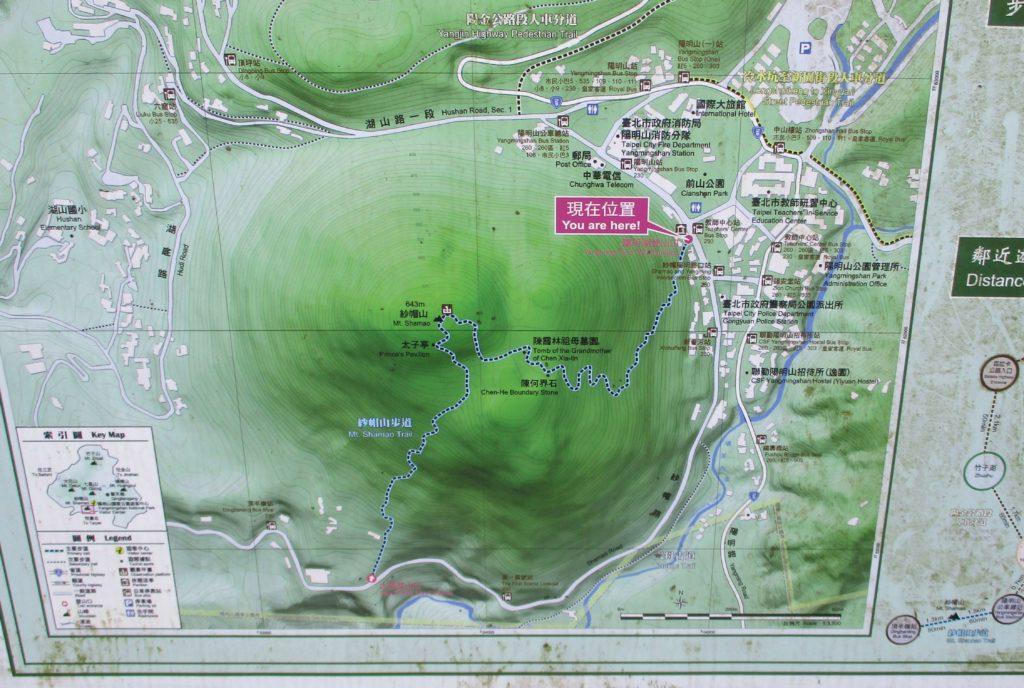 Map of Shamaoshan