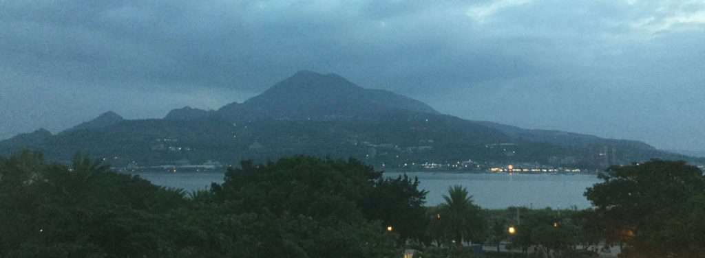 View of Guanyinshan from Tamsui