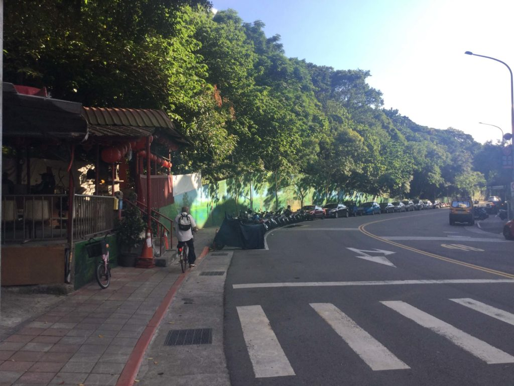 Entrance to Fuzhoushan Park