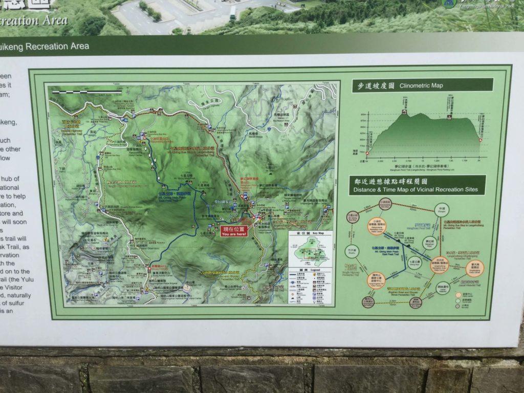 Yangmingshan map