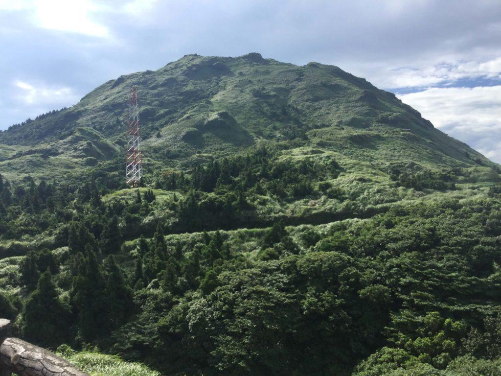 Qixingshan (7 Star Mountain) in Yangmingshan park, Taipei