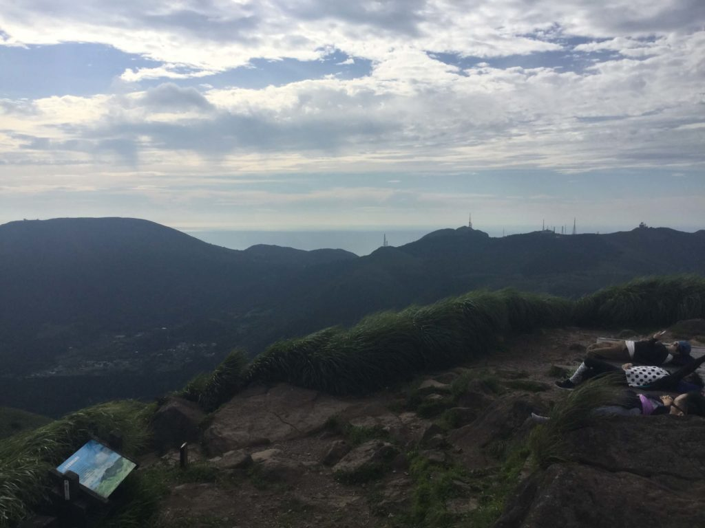 Yangmingshan summit